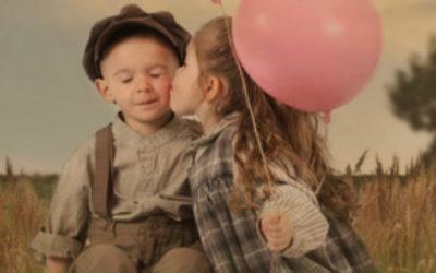Een kind heeft geen bagage wat betreft De Liefde